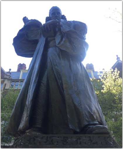 George Whitefield Statue