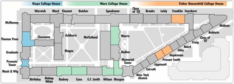 Quad Dorm Map