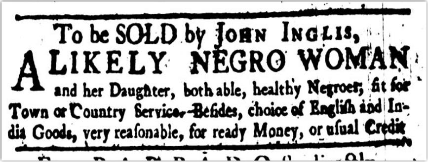 Inglis Slave Ad.png